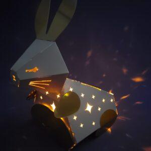 玉兔花燈月餅禮盒